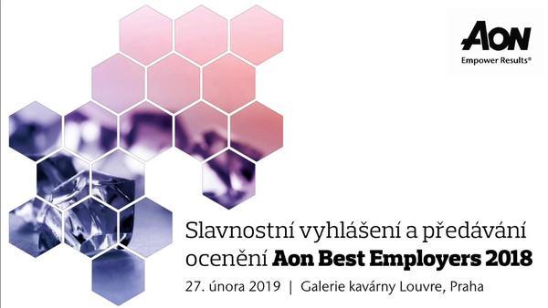 Aon Best Employers představuje nejlepší zaměstnavatele v ČR a SR za rok 2018