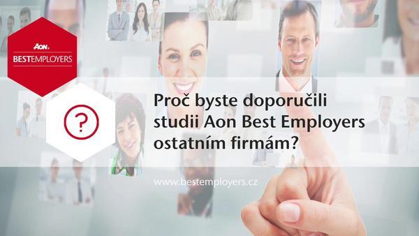 4 důvody, proč se zapojit do studie Aon Best Employers