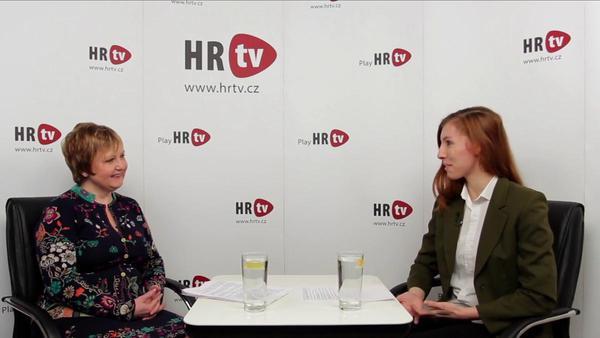 Jarmila Skopalová v HR tv: Učím lidi komunikovat sebevědomě a přesvědčivě