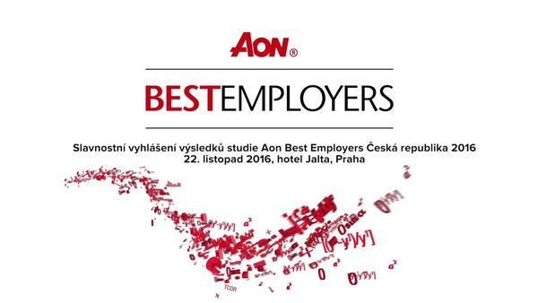 Seznamte se s vítězi Aon Best Employers Česká republika pro rok 2016