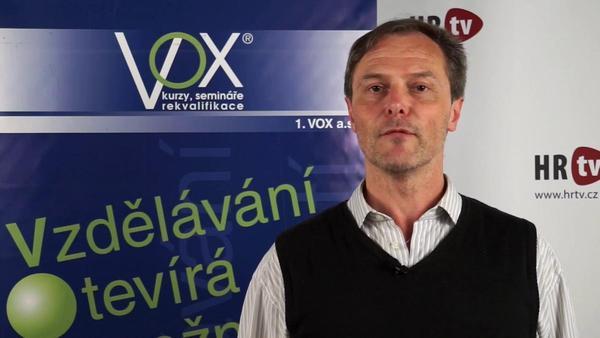 Profil Tomáše Petříka - lektora společnosti 1. VOX a.s.