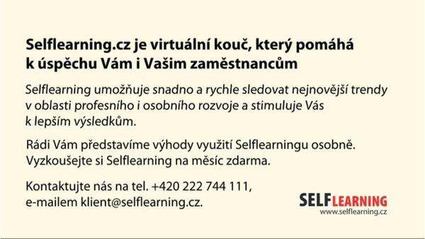 Co je to Selflearning?