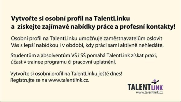 Jak Vám pomáhá TalentLink? Pro zájemce o lepší práci