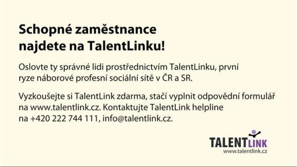 Jak Vám pomáhá TalentLink? Pro zaměstnavatele