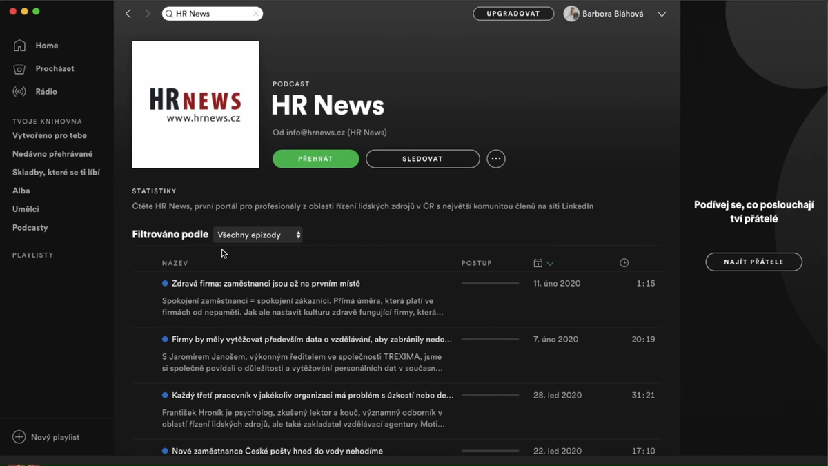 HR News - Spotify